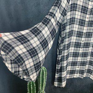 Lulu's Dresses - 🆕Lulu's Tymber Plaid Shirt Dress…